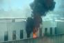 Incêndio no Hospital de Braga