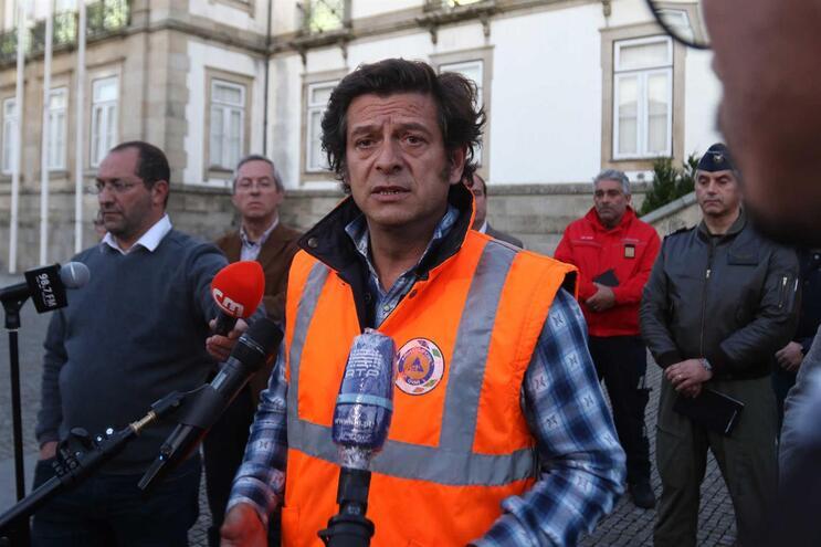 O Presidente da Câmara Municipal de Ovar , Salvador Malheiro