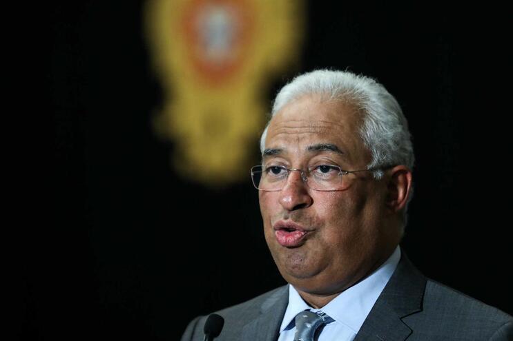 O secretário geral do Partido Socialista (PS), António Costa