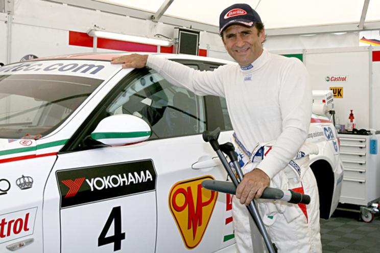 Ex-piloto Alessandro Zanardi
