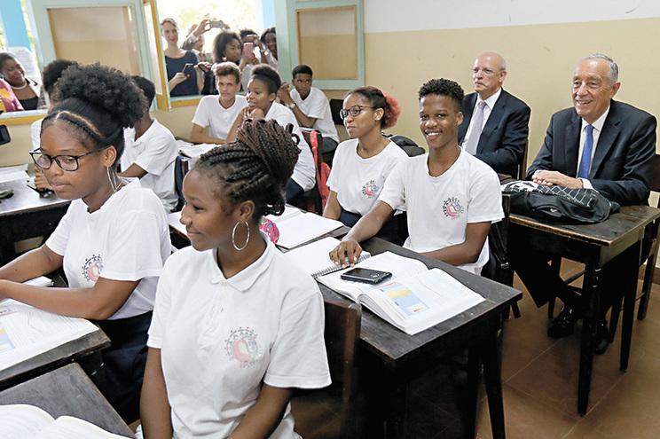 Miguel Rebelo de Sousa inaugurou oficialmente a escola em fevereiro
