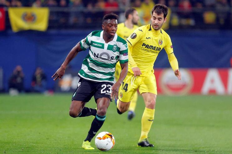 Sporting em vantagem ao intervalo frente ao Villarreal