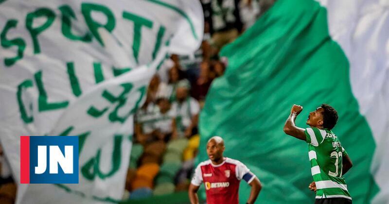 Os golos que vão dando vantagem ao Sporting frente ao Braga