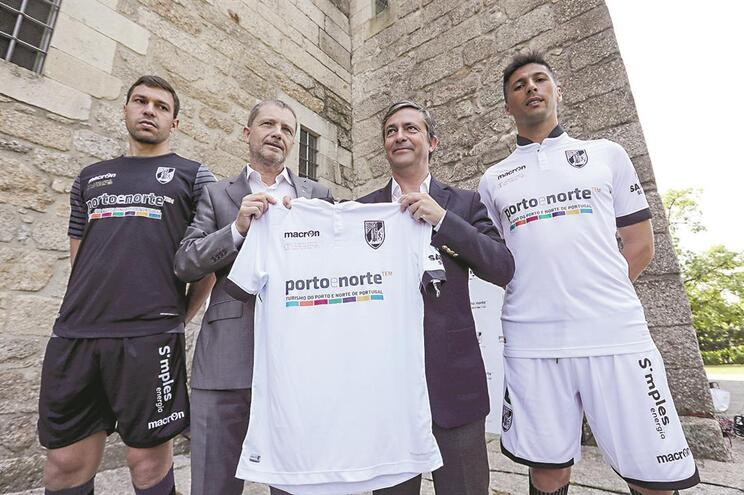 Apresentação da nova camisola do Vitória Sport Club, para a final da Taça de Portugal, 2017. Julio Mendes