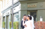 Explosão em Beirute surpreende noivos em sessão fotográfica