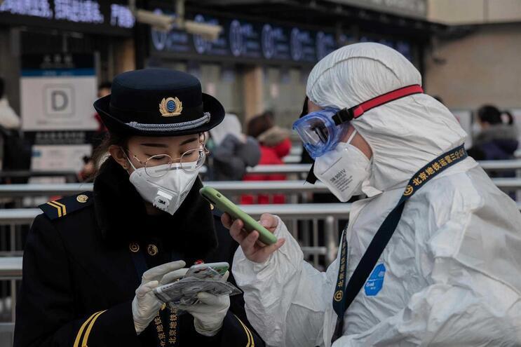 Primeira vítima mortal confirmada em Pequim