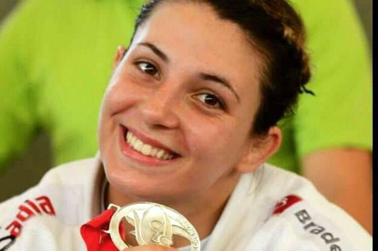 Judoca Bárbara Timo conquista medalha de ouro no Grande Prémio de Tbilisi