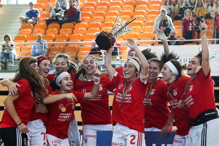 Benfica conquista Supertaça feminina em jogo de sentido único