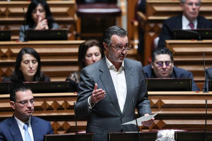 Deputado da Iniciativa Liberal, João Cotrim de Figueiredo