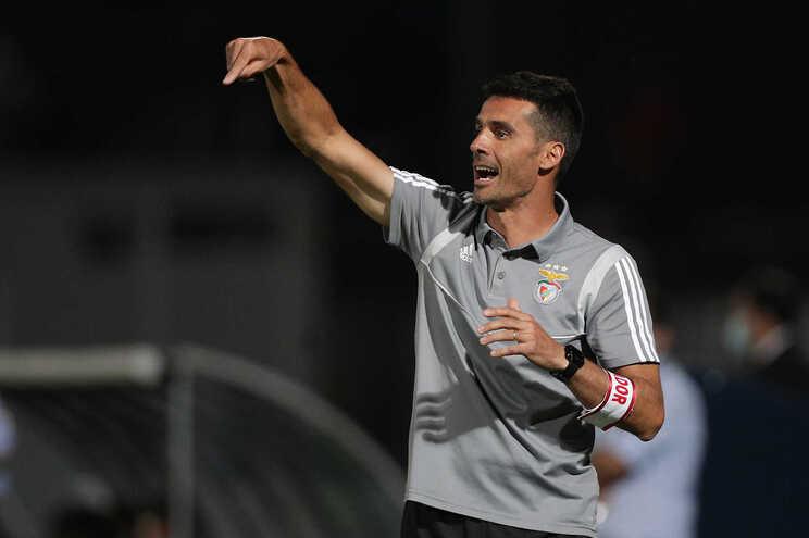 Nélson Veríssimo, treinador do Benfica