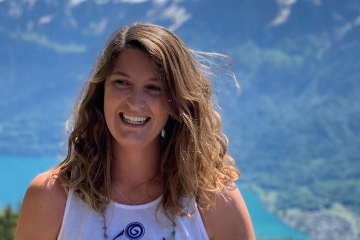 A portuguesa Carolina Sobral é farmacêutica na Suiça
