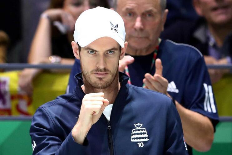 Tenista Andy Murray