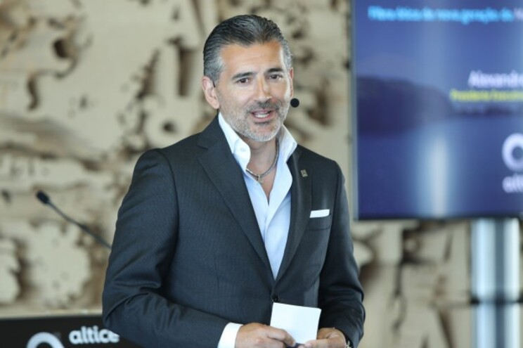 Líder da Altice Portugal, Alexandre Fonseca