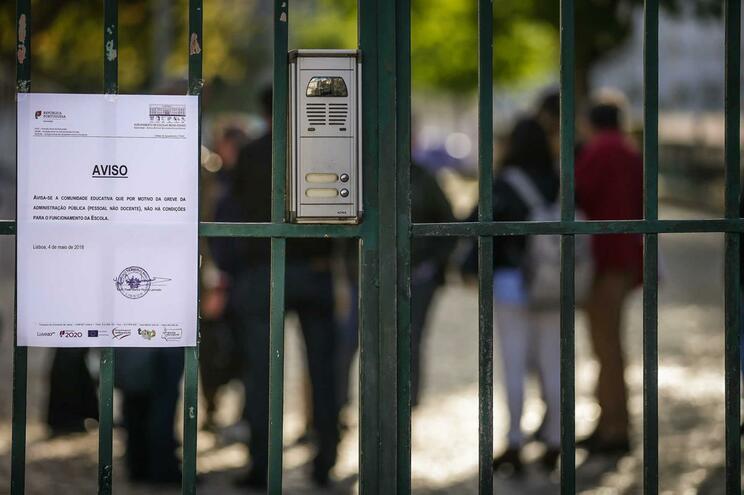 Trabalhadores não docentes das escolas marcaram greve para o dia 29