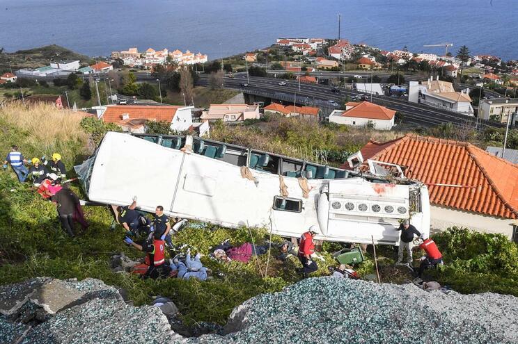 As reações oficiais à tragédia na Madeira