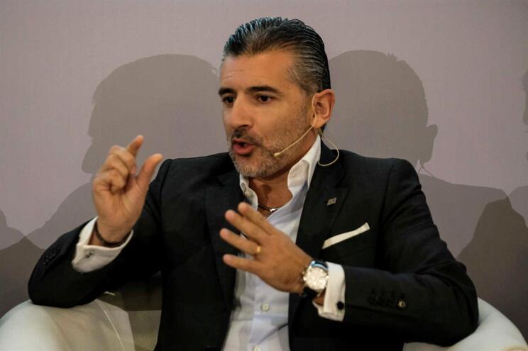 O presidente-executivo da Altice Portugal, Alexandre Fonseca
