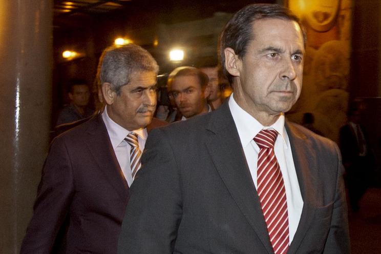 Luís Filipe Vieira e Rui Gomes da Silva