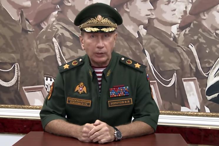 Viktor Zolotov desafiou Alexei Navalny para um duelo