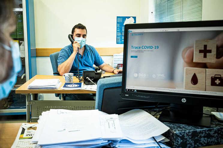 As consultas presenciais nos centros de saúde caíram 36% no primeiro semestre do ano
