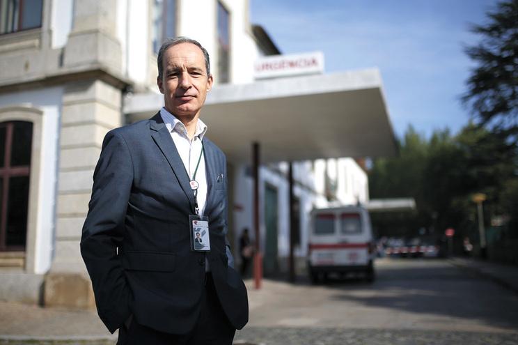 Joaquim Barbosa, presidente do  Hospital de Barcelos, lembra que 48% das urgências são falsas
