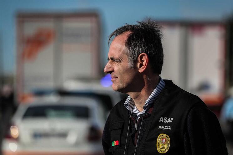 O inspetor-geral da Autoridade de Segurança Alimentar e Económica (ASAE), Pedro Portugal Gaspar