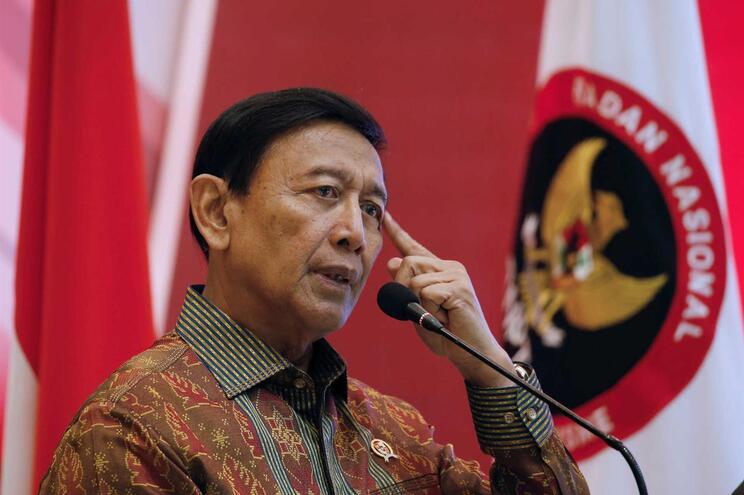 O ministro Coordenador da Segurança indonésia, Wiranto