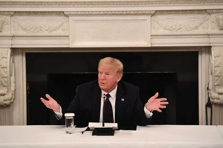 Presidente dos Estados Unidos da América, Donald Trump