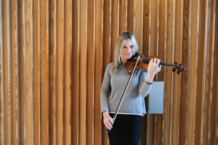 Ianina Khmelik, violinista na Casa da Música