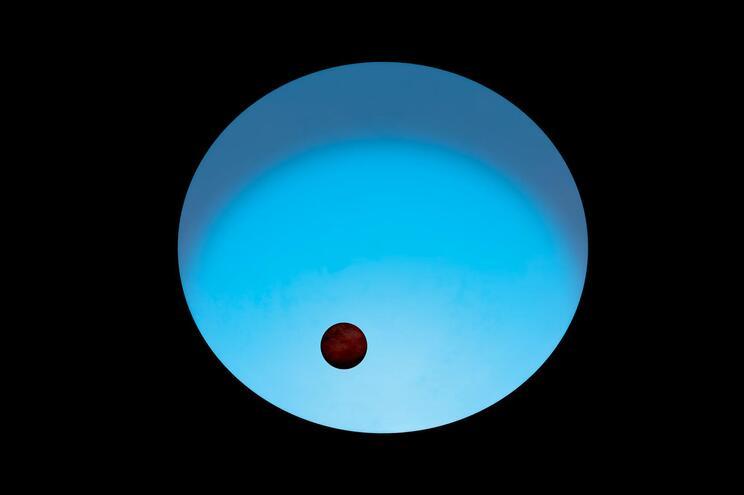 Ilustração do planeta WASP-189b