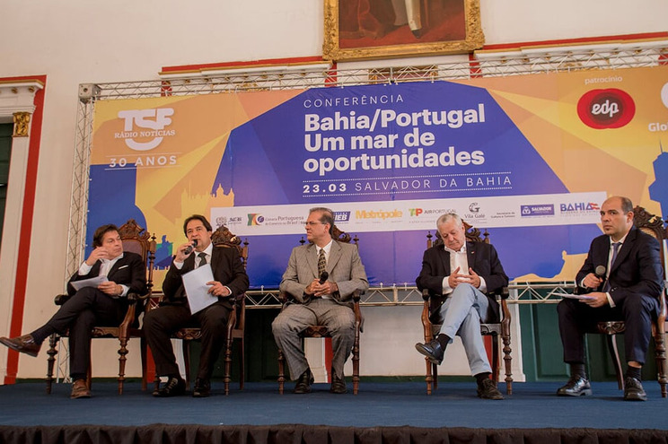 TSF na Bahia para dinamizar laços Portugal-Brasil