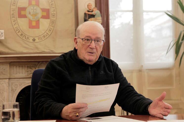 José Correia Azevedo, presidente do Sindicato dos Enfermeiros