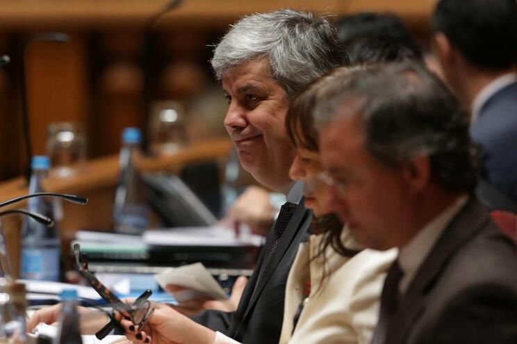Mário Centeno, ministro das Finanças