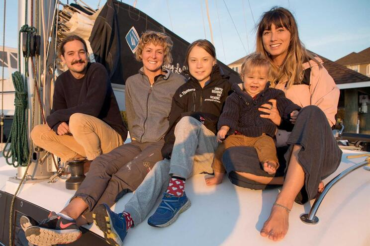 Greta Thunberg está ao largo dos Açores