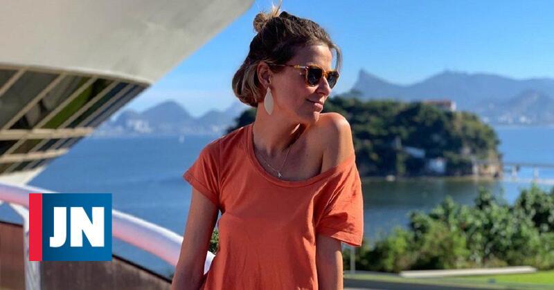 Leonor Poeiras despede-se de dias de descanso no Brasil