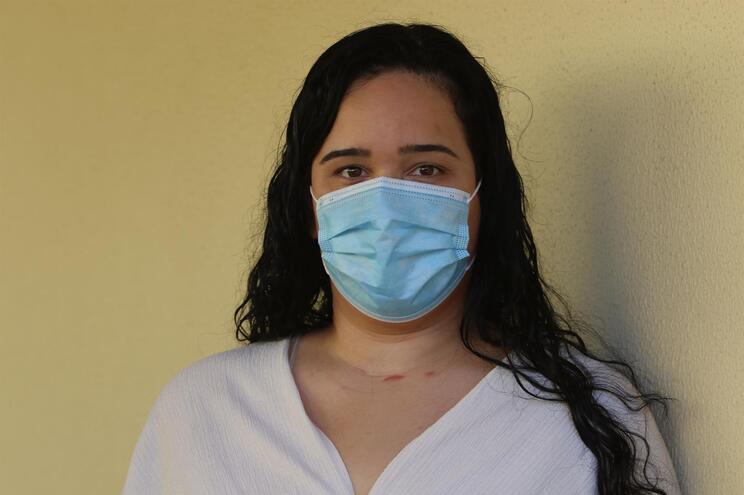 Patrícia Duarte esteve infetada com covid-19