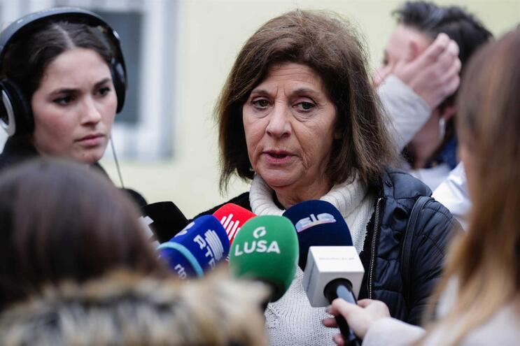 """""""A resposta [à proposta do Governo] é a luta"""", referiu Ana Avoila, da Frente Comum"""