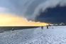 Furacão Laura atinge estado do Louisiana com ventos a 240 km/hora