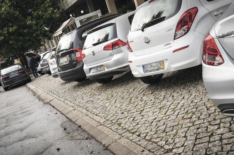 Local do incidente, em São João da Madeira