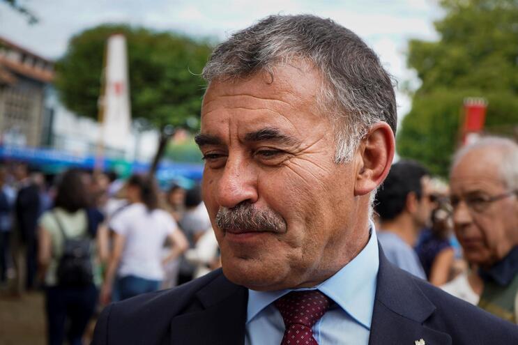 O presidente Câmara Municipal de Santa Maria da Feira, Emidio Sousa