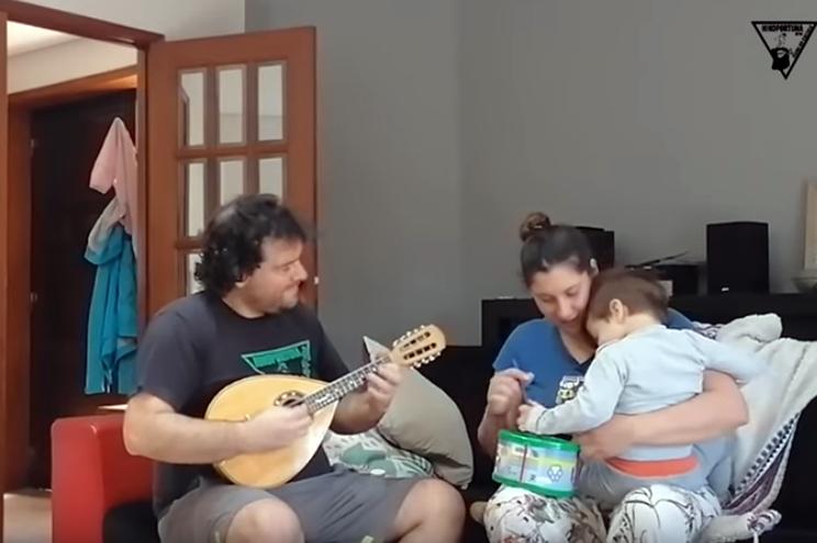 """Tuna faz festival online e canta """"Havemos de ir a Viana"""" a partir de casa"""