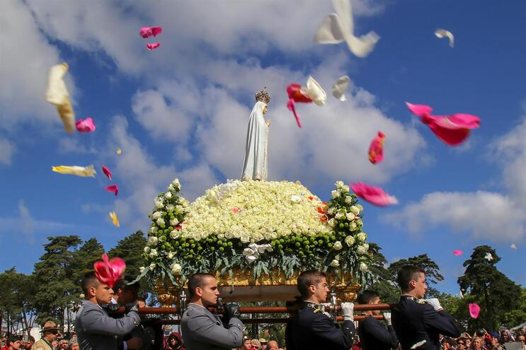 Este ano, por causa da pandemia, não haverá a habitual peregrinação a Fátima