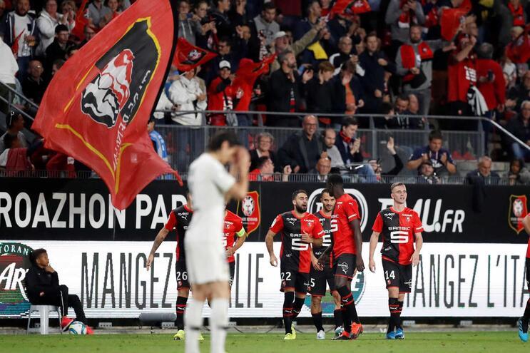 Paris Saint-Germain sem Neymar perde em Rennes
