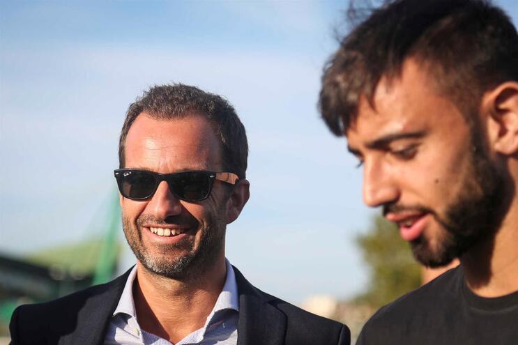 """Varandas garante que por 62 milhões de euros Bruno Fernandes """"não sai"""""""