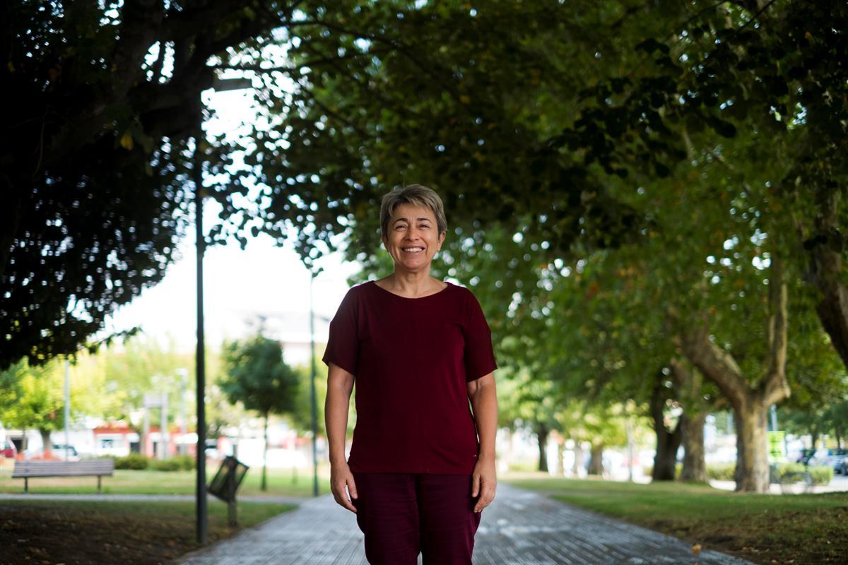 Berta Nunes, presidente da Câmara de Alfândega da Fé