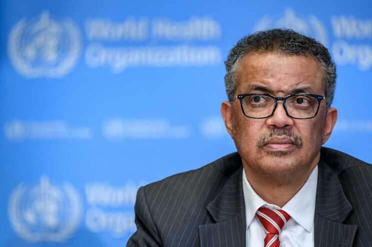 O diretor-geral da Organização Mundial de Saúde, Tedros Ghebreyesus