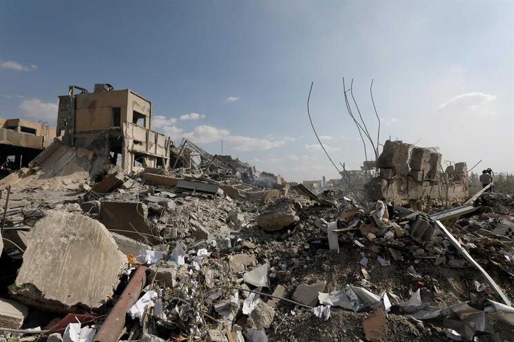 Quase 950 morreram em maio no último bastião de jiadistas na Síria