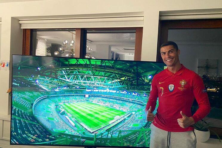 Cristiano Ronaldo deixou uma mensagem