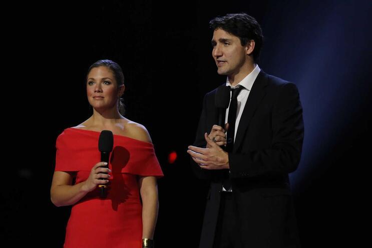 Sophie Gregoire Trudeau e Justin Trudeau