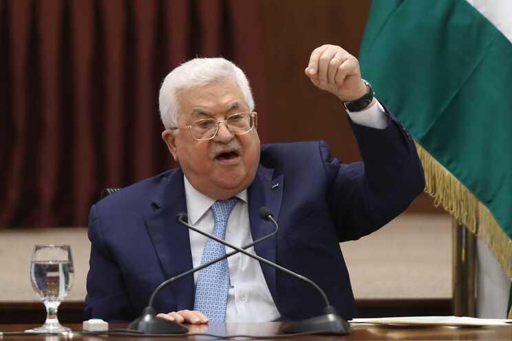 Mahmud Abbas, presidente da Autoridade Palestiniana