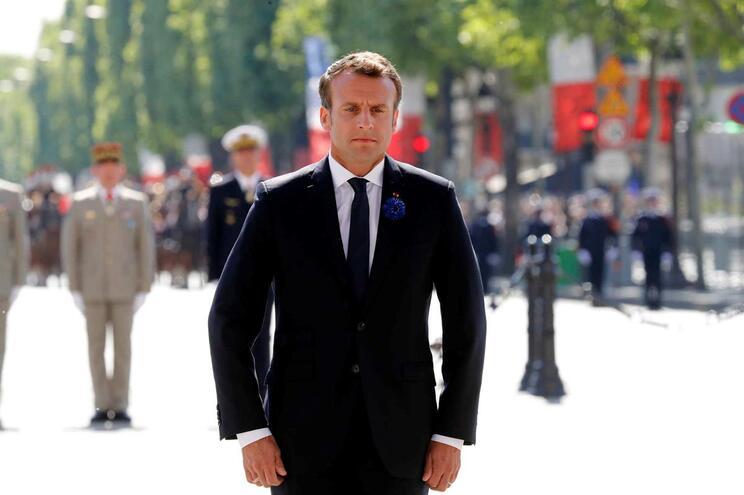 Emmanuel Macron, presidente francês